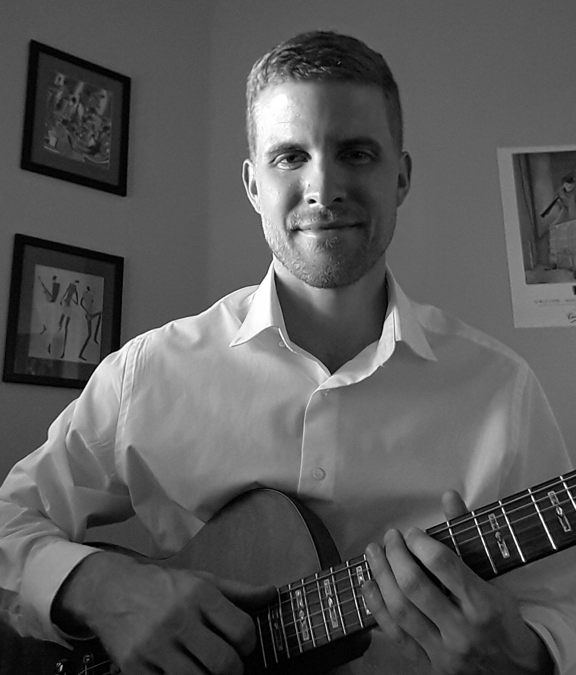 Michael New (guitar, piano, bass, uke, banjo)